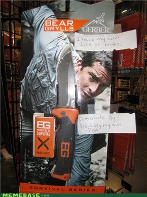 The Internet IRL: Bear Grylls Knives