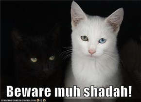 Beware muh shadah!