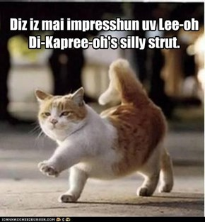 Leo Strut: Now in Cat!