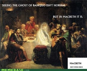 Macbeth, not even once