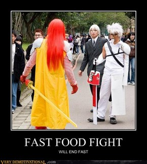 FAST FOOD FIGHT