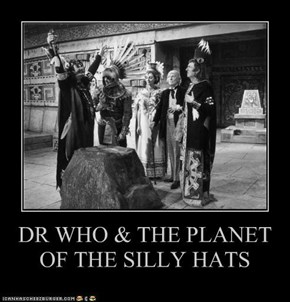 DR WHO & THE PLANET OF THE SILLY HATS