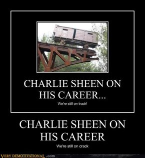 CHARLIE SHEEN ON  HIS CAREER
