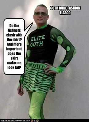 Goth...fashionista?