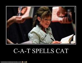 C-A-T SPELLS CAT