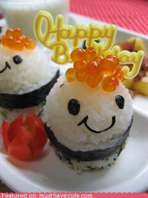 Epicute: Smily Birthday Sushi