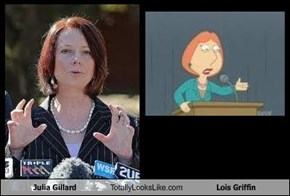 Julia Gillard Totally Looks Like Lois Griffin