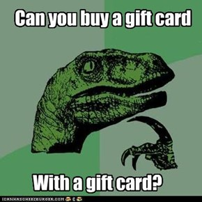 Can you buy a gift card