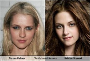 Teresa Palmer Totally Looks Like Kristen Stewart