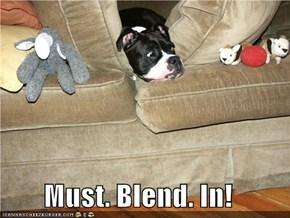 Must. Blend. In!