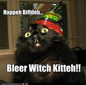 Happeh Biffdeh...