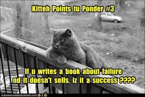 Kitteh  Points  tu  Ponder  #3