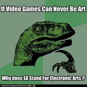 Gamers: 1/Ebert: 0