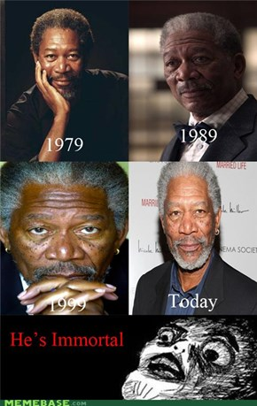 Morgan Freeman trough the centurys