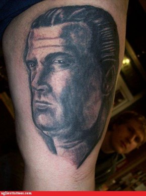 I Understand Getting a Steven Segal Tattoo, But Get a Good One