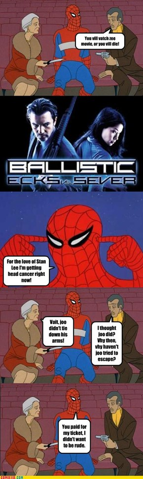 Spider-Man is Quite Polite