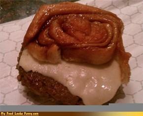 Morning Eats: Cinnaburger