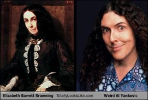 Elizabeth Barrett Browning Totally Looks Like Weird Al Yankovic