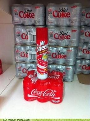 Mr. Sheen is on Coke Again