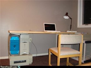 That's Not What They Mean by Computer Desk