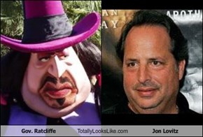 Gov. Ratcliffe Totally Looks Like Jon Lovitz