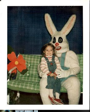 This Bunny Couldn't Believe How Easily Satisfied This Child Was