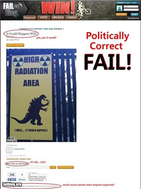 Politically Correct FAIL!