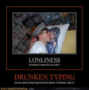 DRUNKEN TYPING