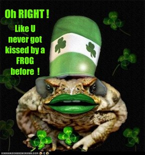 Happy St. Pat's Day to all my Cheezfriends !
