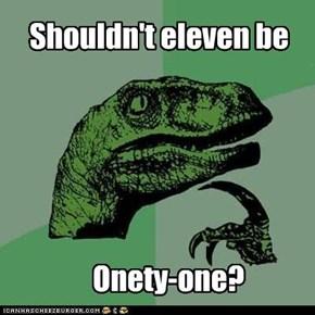 Onety-one