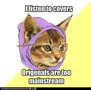 Hipster Kitty: Covers