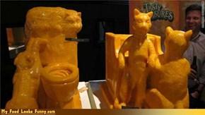 SXSW Cheez Sculptures