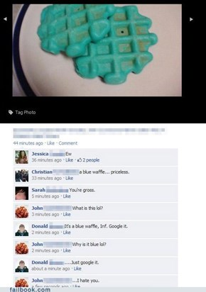 Blue Waffles