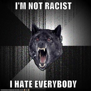 I'M NOT RACIST  I HATE EVERYBODY