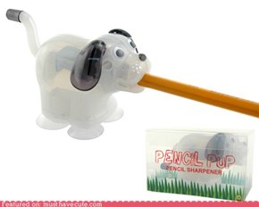 Pencil Pup Sharpener
