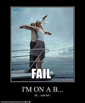 I'M ON A B...