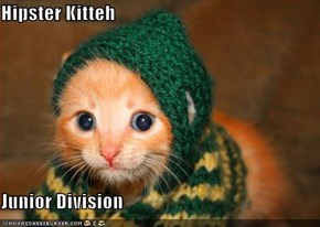Hipster Kitteh  Junior Division