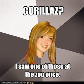 GORILLAZ?