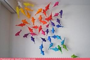 Origami Fish Pond
