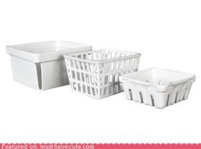 Ceramic Fruit Baskets