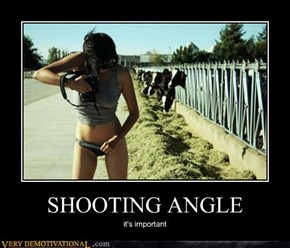 SHOOTING ANGLE