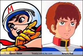 Speed Racer Totally Looks Like Amuro Ray