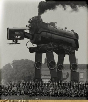 Steam Powered Imperial Walkers: Sweet!