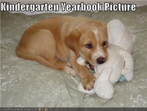 Kindergarten Yearbook Picture