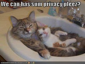 We can has sum privacy pleez?