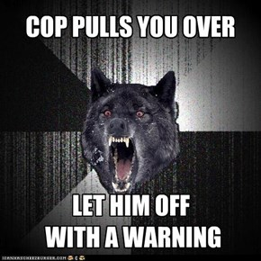 COP PULLS YOU OVER
