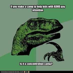 Philosoraptor: ADHD Kids