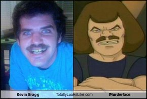 Kevin Bragg Totally Looks Like Murderface