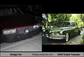 Kludge Car Totally Looks Like 1948 Tucker Torpedo