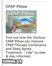CPAP Pillow.